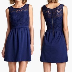 Lace Navy Lilly Pulitzer Dress